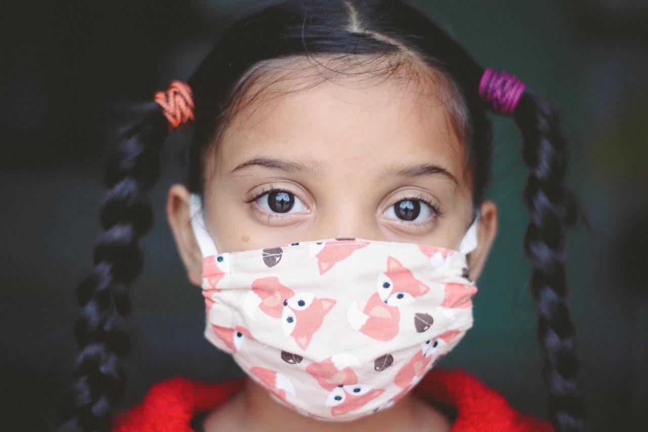 enfant masque peau irritation terre eternelle